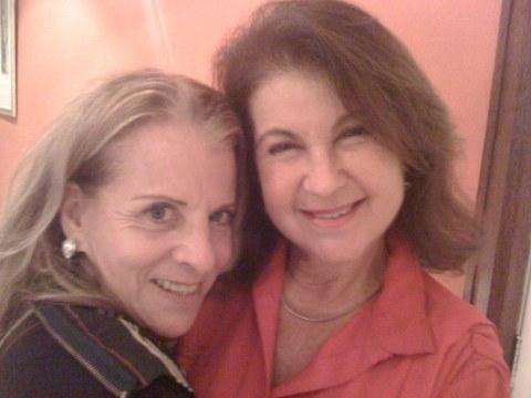 Leila Branco e Maria Lúcia Bártoli